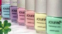 #stamping   #polish   #nailart   #naildesign   Du liebst es dezent auf den Nägeln, möchtest aber auf ausgefallene Nailart nicht verzichten? Dann sind die neuen Stamping-Lacke pastell genau richtig für Dich. In diesem Video zeigen wir Dir die Pastell-Lacke.  Hier findest Du die neuen Stamping-Lacke pastell: http://www.prettynailshop24.de/shop/stamping-lacke-pastell-video_674.html#Produkte