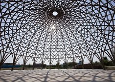 Vo Trong Nghia unveils bamboo domes under construction in Vietnam | Two intricate bamboo domes form part of this community centre under construction in Ho Chi Minh City, by Vietnamese firm and bamboo exponent Vo Trong Nghia Architects (+ slideshow).