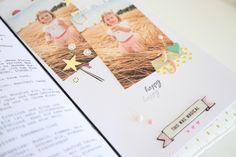 TN Tutorial Scrapbook Werkstatt - Maggie Holmes / Crate Paper `Carousel' - Ulrike Dold Crate Paper, Travelers Notebook, Project Life, Crates, Polaroid Film, Mini, Happy, Projects, Tutorials