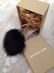 MICHAEL KORS Fur Pom-Pom Keychain pinterest: Kylaa  ♚
