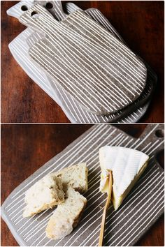 You can make ceramic cheese boards remember! (they don't have to be stripy)