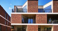 Artistic Exposed Brick Architecture Design