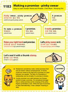 (1183) Making a promise - pinky swear