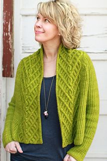 Gorgeous! Michele Wang's Verdea design for the Plucky Knitter