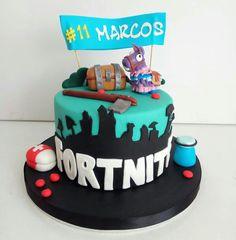 New Birthday Cake Boys Fortnite Ideas Birthday Gifts For Boys, Boy Birthday, Birthday Parties, Fondant Cakes, Cupcake Cakes, Gateaux Cake, Cake Photography, Diy Cake, Cakes For Boys