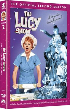 The Lucy show, season 2 DVD