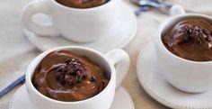 glutén-,tej-,mentes, cukor hozzáadása nélkül készült csoki mousse recept  csoki mousse receptet.
