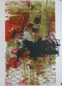 Immigrant 1 by John Waller - lithograph