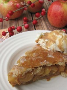 Salted Caramel Apple Pie.