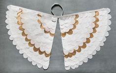 Fancy Dress Costume Bird Wings, Fairy Wings, Angel Wings, Toddler Pretend Play Accessory - Angel Wings