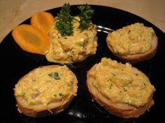 Füstölt sajtos sárgarépakrém