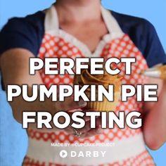 Perfect Pumpkin Pie Frosting Recipe
