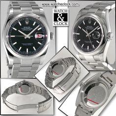 Rolex Datejust Ref.116200 Automatico, cassa e bracciale in acciaio, Ø36mm. Con scatola e documenti.