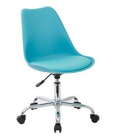 Look at this #zulilyfind! Teal Emerson Student Office Chair #zulilyfinds