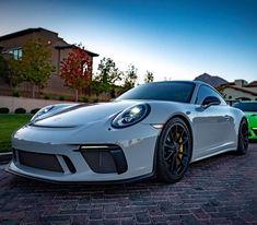 Awesome Chalk Grey 911 GT3 #porsche #911 #GT3 #hoony_porsche Porsche 911 Models, Porsche Cars, Car Silhouette, Cayman S, Sport, Bugatti, Carrera, Cars And Motorcycles, Cool Cars