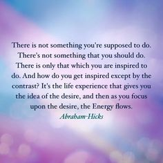 Abraham-Hicks on desire