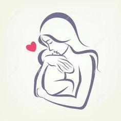 ... Een baby knuffelen
