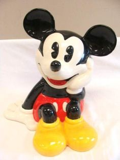 Classic Mickey Mouse Treasure Craft Porcelain Ceramic by LONLAR803, $70.00
