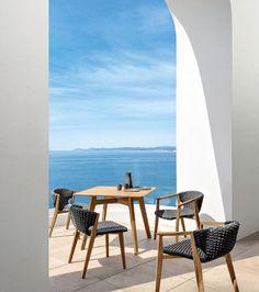 Patrick Norguet designer, Knit Table, Ethimo, 2015