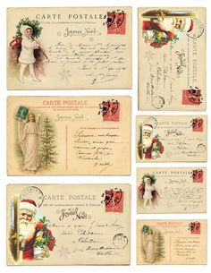 Diana from Dreams Factory here with a new project – some Vintage French Christmas Postcards, perfect for decorating and gifting. Making the Vintage French Christmas Postcards could not be easier! You just have to download, print and cut them and then decide on how to use them on your beautiful Christmas presents or your home decor. It's that easy!