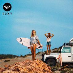 Siempre listas para toda ocasión...  Ven ahora por tus prendas #ROXY!!  #Vacaciones #Colombia #RoadTrip #Holiday #Chicas