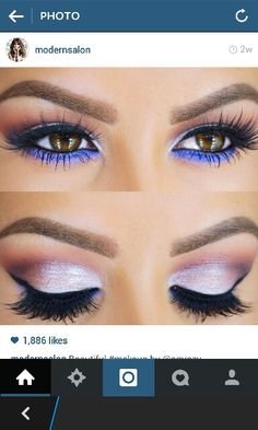 Great colors for a brown eyed girl!