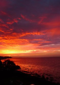 Isle of Wight sunset.