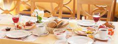 caratbreakfast: Frühstück im hoteltraube Rüdesheim.