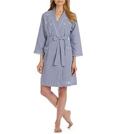 Miss elaine petite pajamas brushed back satin top and for Robes de mariage petite macy