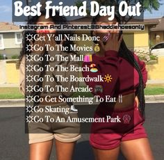 Start like that besties bff me and tayla and more squads Things To Do At A Sleepover, Fun Sleepover Ideas, Sleepover Activities, Sleepover Party, Summer Activities, Best Friend Activities, Best Friend Dates, Best Friend Goals, My Best Friend