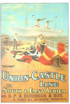 Union Castle Lines East Africa