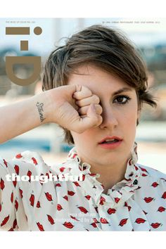 Lena Dunham Cements Her Look on i-D's New Cover http://nym.ag/TckLpa