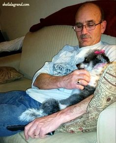 Lollipop, aka Poppy, Seeking ReassuranceAfter the Terror of Her First Trip to the Groomer He who dwells in the shelter of the Most High Will abide in the shadow of the Almighty. 2I will say to th...