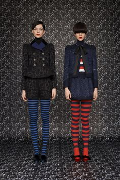 Gothic Couture: Louis Vuitton RTW 2013 via Style.com