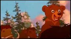Tierra de osos - en marcha estoy(audio latino DISNEY), via YouTube.