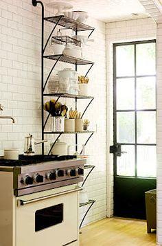 1000 images about kitchen shelving floor to ceiling on. Black Bedroom Furniture Sets. Home Design Ideas