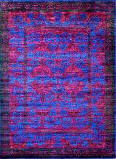 The transitional M-11D rugs from the luxurious Amaluk Collection feature a vibrant palette and classic floral motif that add character and simple elegance to any interior. Hand knotted in India from iridescent Sari silk, these rugs showcase a lustrous, soft pile finish and average thickness. The unique color palette with vivid hues and color contrasts adds  http://www.cyrusrugs.com/cyrus-artisan-item-18322&category_id=272