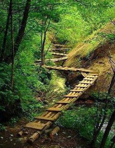 Zig Zag Bridge, China Places To Travel, Places To See, Beautiful World, Beautiful Places, Magic Places, Covered Bridges, Pathways, Wonders Of The World, The Good Place