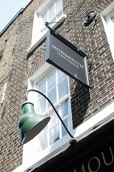 My favourite: Monmouth Coffee Covent Garden