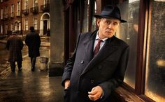 Gabriel Byrne as the pathologist Quirke in the new BBC series