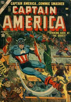 Captain America... Commie Smasher!