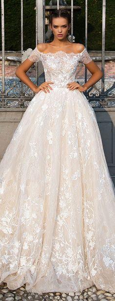Wedding Dress by Milla Nova White Desire 2017 Bridal Collection - Adalla