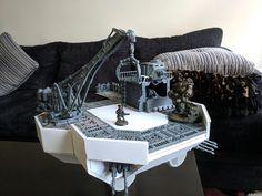 Game Terrain, 40k Terrain, Wargaming Terrain, Warhammer Games, Warhammer 40000, Warhammer Imperial Guard, Warhammer Terrain, Diy Table Top, Prop Design