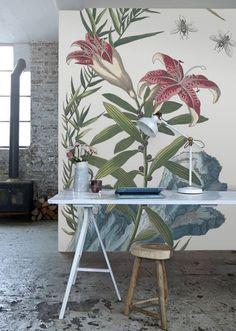 роспись стен в интерьере  дизайн
