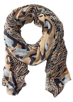 #animal #print #scarf #bonprix