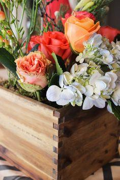 easy wooden planters / kori's wedding / reality and retrospect