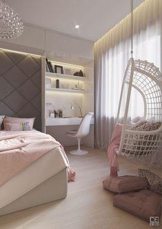 Genç-Odası-Salıncak-Dekorasyonu