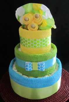 Diaper cake. Never tried it. I think I need to ^^