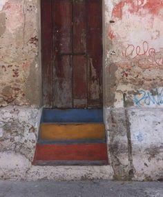 Roadtrippin_Kolumbien_Cartagena_Altstadt_Treppen