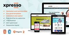 Xpresso - Responsive Multipurpose Opencart Theme ⠀ Xpresso is an advanced OpenCart theme fully customizable and suitable for e-commerce websites of any purpose. The template is characterized by universality, attractiveness and easy customization. Website Design Inspiration, Responsive Layout, Web Design Tips, Online Shopping Websites, Html Templates, Website Themes, Toys Online, Computer, Website Template